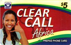 Clear Call Africa Calling Card