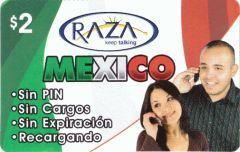 raza mexico calling card - Mexico Calling Card