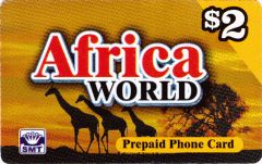 Africa World Calling Card