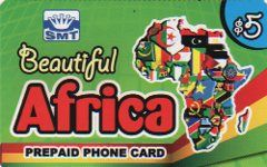 Beautiful Africa Calling Card