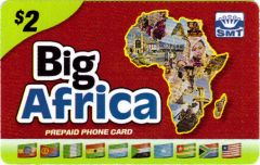 Big Africa phone card