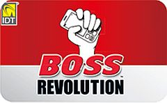 Boss Revolution UnlimitedPrepaid Phone Card