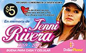 Jenni Rivera Calling Card