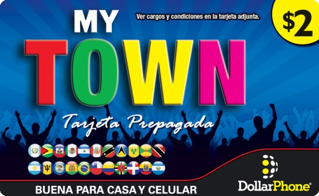 My Town Prepaid Phone Card