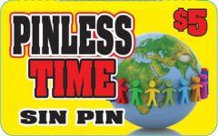 Pinless TimePrepaid Phone Card