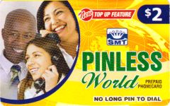 PINless World Prepaid Phone Card