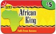 African King Calling Card