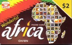 Wonderful Africa Calling Card